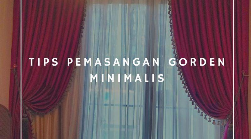 Tips Pemasangan Gorden Minimalis